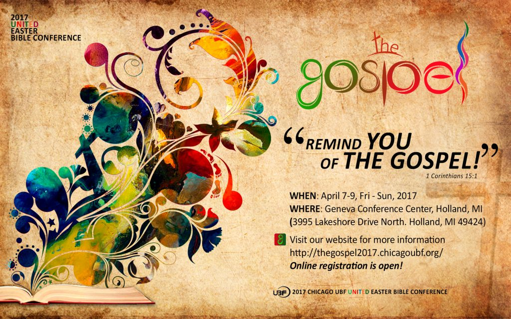 The Gospel Conference - 2017 Easter