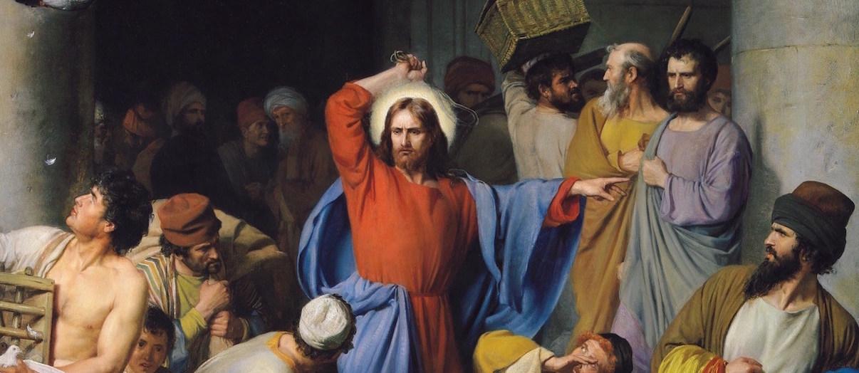 Jesus cleanse temple