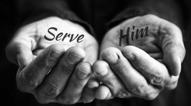 serve him