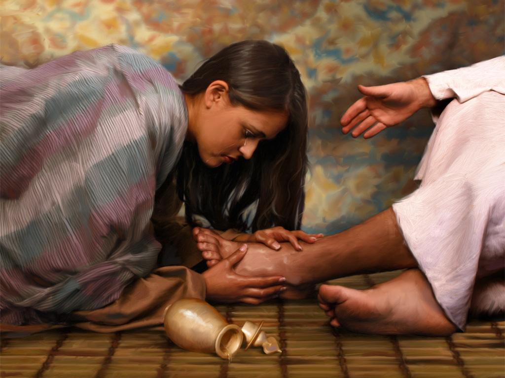 anointing of Jesus